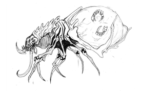Horror Monster Concept Desgin by DestinyScythe