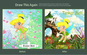 Draw This Again meme (tinker bell) by Rasberry-Jam-Heaven