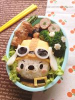 Dogy rider bento lunch box by loveewa