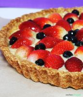 Berry Fruit Tart 3 by munchinees