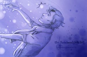 Sherlock : the Reichenbach fall by Julia-Kisteneva