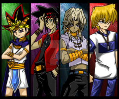 .:Yugioh Bookmarks:. Front by lizluvsanime2