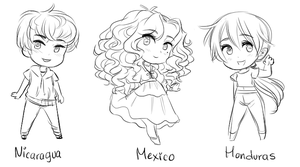 Mexico younger siblings by NerdyJones