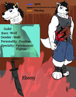 Gulid: Ref sheet by GulidTheWolf