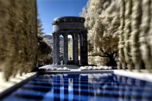 Pulgas Water Temple Infrared by Amoakk