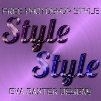 FREE PHOTOSHOP STYLES -- EVA BAXTER DESIGNS by EvaTakesNoPrisoners