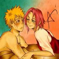 Narusaku by vinces