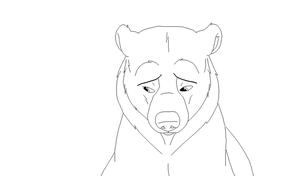Brother Bear lineart 1 by Xbox-DS-Gameboy