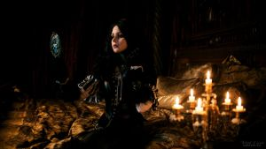 Yennefer(Witcher 3) - Reflection of the witchcraft by ver1sa