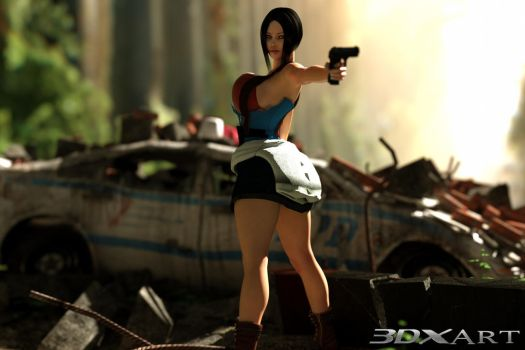JIll Valentine RE-Vamped by 3DXArt