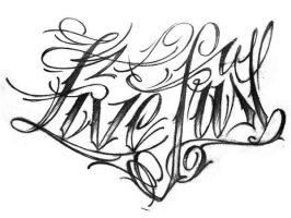 lettering 1. by sideusz