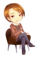 Chibi Dr. Hannibal Lecter by ibahibut