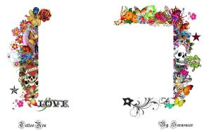 tattoo you twitter Bg by splattedlotus