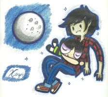 Buttercup and Marshall Lee? by Xcoqui