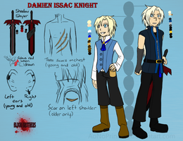 Damien ref and bio by AoNoPrincess