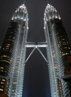 Photo: The Petronas Towers by jenfuzzled