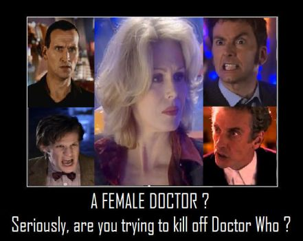 Doctor Who - A Female Doctor by DoctorWhoOne