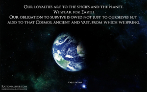 Our Obligation towards Cosmos... by rationalhub