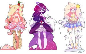 Adoptables Batch 15: CLOSED by Zombutts