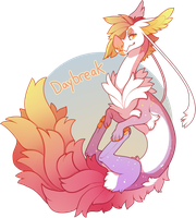 Daybreak (Grotte Primal Auction) CLOSED by Lilwolfpard