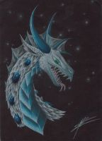 Black Ice Dragon by Draconic-Goth