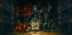 Crypt Cards Cover Art by Erkahoth