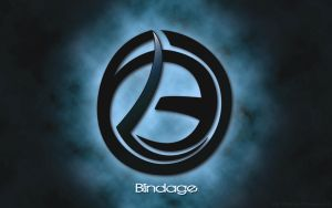 DJ Blindage logo Wallpaper by evolution99
