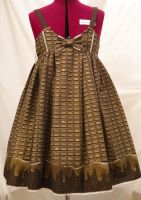 Chocolate Jumperskirt by sweetmildred
