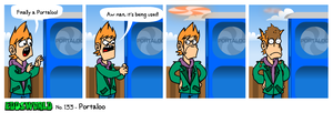 EWCOMIC No.133 - Portaloo by eddsworld