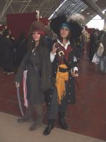 Jack and Barbossa by SuperCosplay