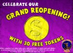 Freddy's Grand Reopening Coupon by thechosenone12