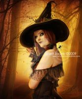 Autumn Witch by JJadek