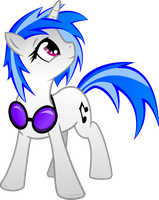 Vinyl Scratch Vector by WarpOut