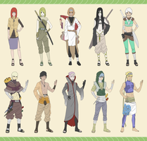 Naruto Adopts-12 (Jashinists) CLOSED by Stsmirk