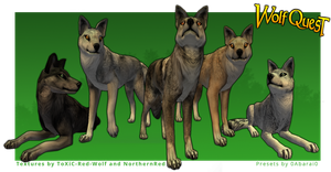 FREE!! WOLFQUEST Preset Pack by 0Abarai0