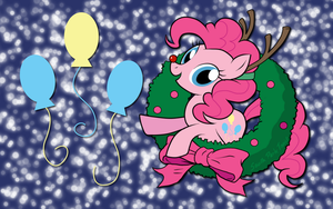 A very Pinkie Christmas WP by AliceHumanSacrifice0