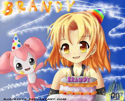 Happy Birthday BrandyRosa by RJAce1014
