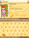 Coo the Raticate by CooCatDiva