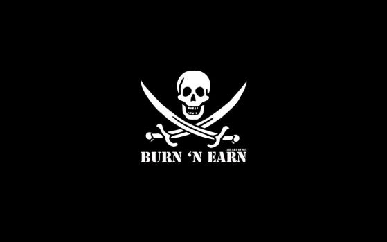 Burn 'n Earn, Become a Pirate by theartofsin