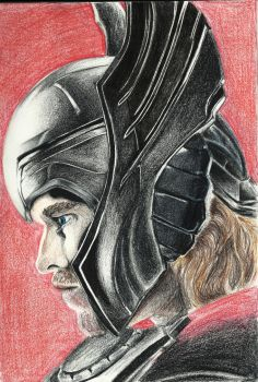 Thor by artisticendeavours