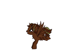brown pony by emitis17