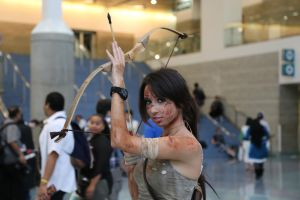 Anime Expo 2013 : Lara Croft by A-U-R