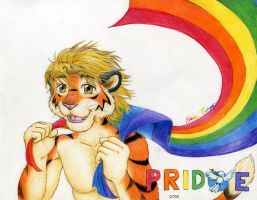 Pride: Peace and Freedom by RuntyTiger