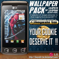 WALL PACK for the LG COOKIE by Bayushi-Tai