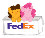 Ship it like FedEx. ~ Cheesepie by EverlastingDerp