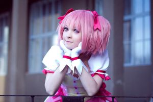 Magical girl Madoka by EnsoiWhite