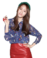 Krystal Jung F(x) PNG by yoonaddict150202