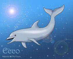 Ecco the Dolphin by ChiroOokami