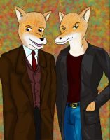 Fox Brothers by alicelights