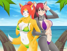 Canine Summer Fun by EVOV1